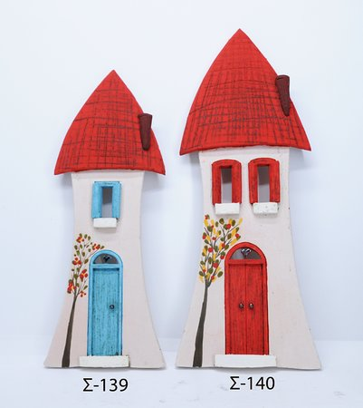hand made wall standing ceramic Cyprus, priced 35 euros
