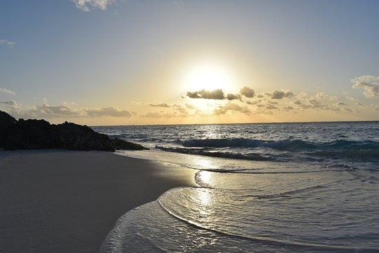 Elbow Beach, Bermuda: The private beach