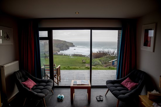 Bedruthan Hotel & Spa: Our villa room
