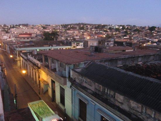 Hostal Alma: Blick von der Dachterrasse über Matanzas