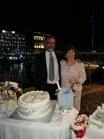 Anniversario Matrimonio Napoli.Torta 25 Anniversario Di Matrimonio Foto Di La Scialuppa