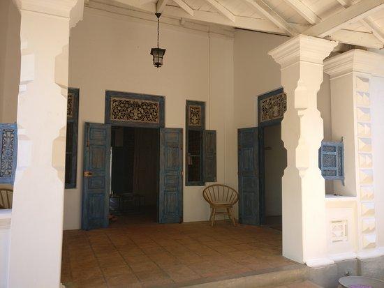 Talalla, Шри-Ланка: The hotel lobby