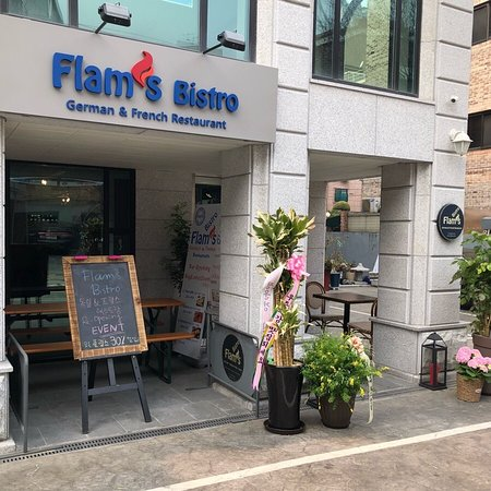 Flam's Bistro focuses on regional specialties from South Germany, France and Alsace - Picture of Flam's Bistro, German & French Restaurant, Seoul