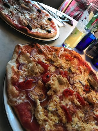 Crispy Pizzas Galore Picture Of Pizza Express Eastbourne