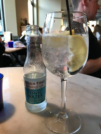 Yummy Gin And Tonic Picture Of Pizza Express Eastbourne