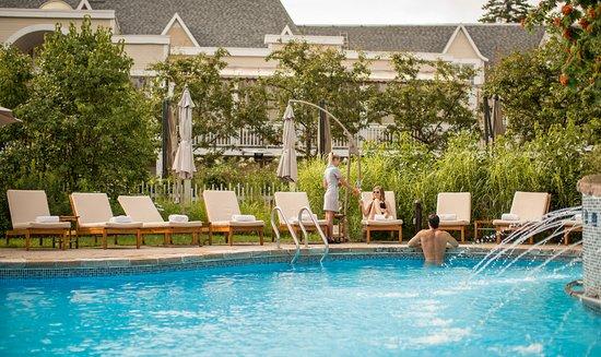 Pool at the Hotel Le Bonne Entente