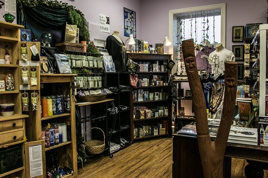 Truro, Canada: Calling Corners Interior. Tarot, herbs, candles, books, incense, crystals, and magick abound!