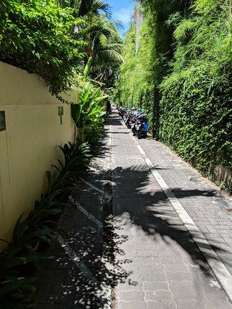 باريجاتا ريزورت آند سبا: Walkway to the beach