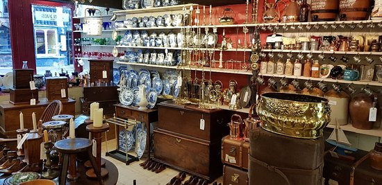 Chester, UK: The Antiques Shop