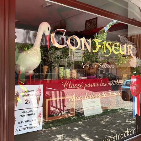 Kaysersberg, France: Chocolaterie Strackar