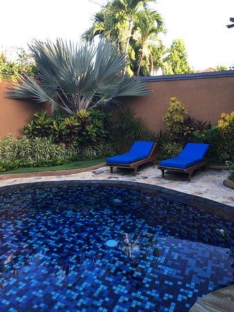 Parigata Villas Resort: Pool der Privat Villen