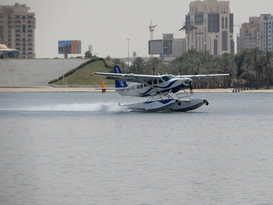 Seawings Seaplane Tours: Taking off from Dubai Creek