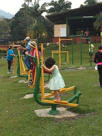 Parque La Pradera: Work out place