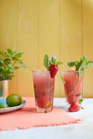 Alderley Edge, UK: Strawberry Mojito
