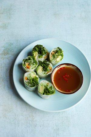 Alderley Edge, UK: Vegan Vietnamese Spring Rolls