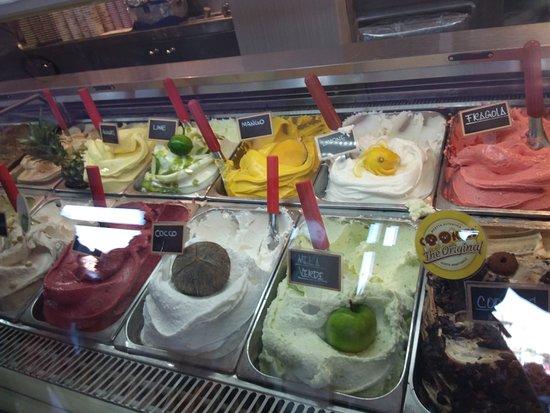 Bar Gelateria del Centro I gusti gelato alla frutta