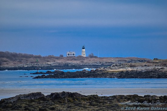 Biddeford Pool, Maine: Wood Island Lighthouse