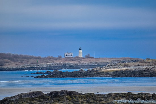 Biddeford Pool, Μέιν: another of Wood Island Lighthouse