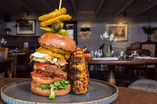 The Norway Inn (Bar & Restaurant): A great example from out 'Build your own Burger' NighT!