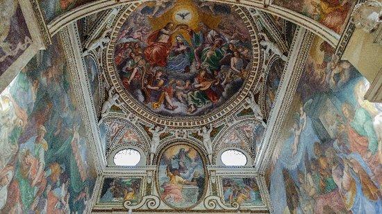 Chiesa di Sant'Angelo: La Coronación de la Vírgen, Ottavio Semini