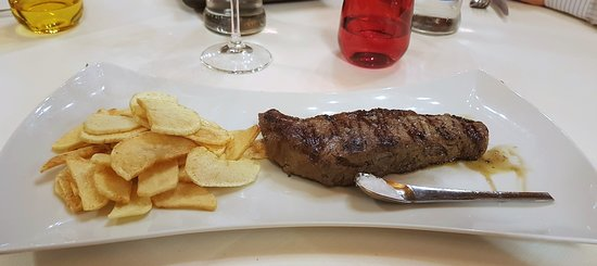 Sala Baganza, Italy: New York strip