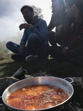 Babol, إيران: omelet