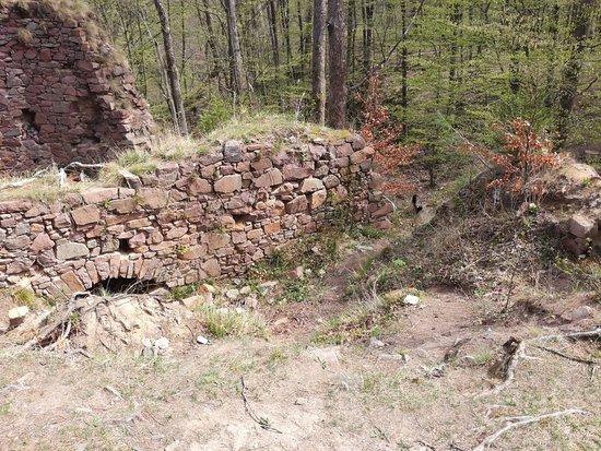 Nasavrky, Czech Republic: Stradov castle ruins.