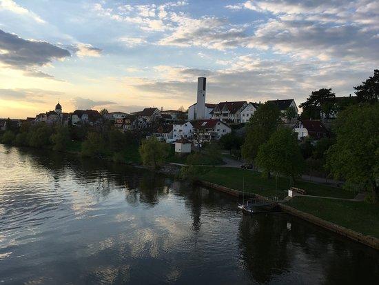 Bad Friedrichshall, Γερμανία: Расположенная рядом река