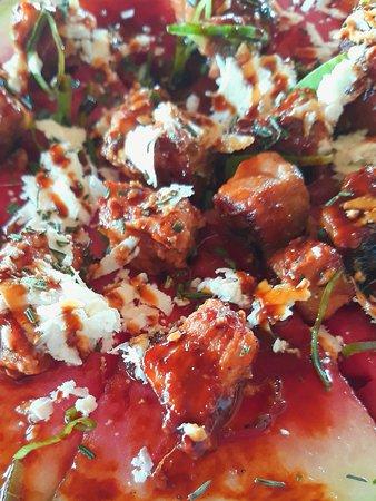 Popoyo, Nicaragua: Watermelon & Unagi Pork Pizza