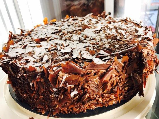Schoko Vanille Kuchen Bild Von Geschmacksache Berlin Tripadvisor
