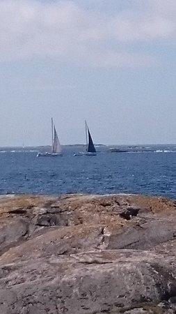 Tjorn, Sverige: Att segla är livet segling i Bohusläns skärgård är fantastisk helt enkelt