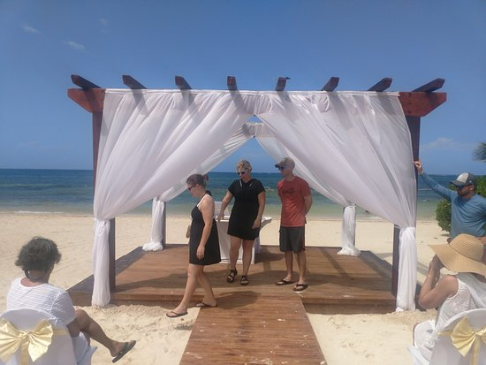 Wedding Alter Picture Of Iberostar Rose Hall Suites Rose Hall