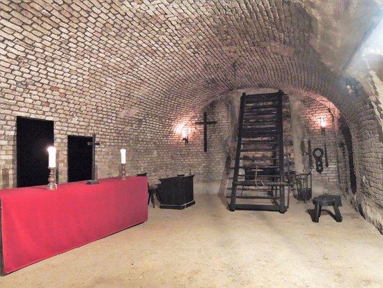 Brno, Czech Republic: Mučírna /Torture room