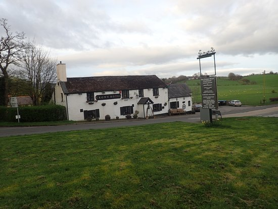 Llandegla, UK: My view of the pub in the morning