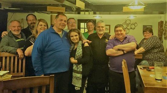 Llandegla, UK: Me and all the gang