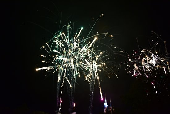 Happily Ever After Fireworks: Lots of good places to see fireworks