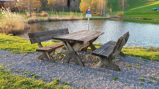 Lingenau, Østerrike: Entspannung an kleinem See
