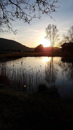 Lingenau, Austria: Entspannung an kleinem See