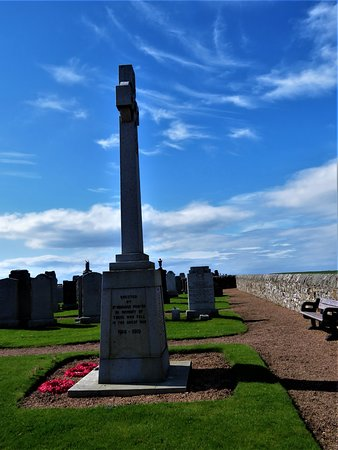 St Monans, UK: memorial