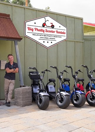 Cave Creek, AZ: Electric scooters