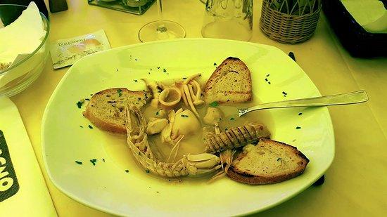 Zuppa del pescatore picture of bagno perla ravenna tripadvisor - Bagno perla ravenna ...