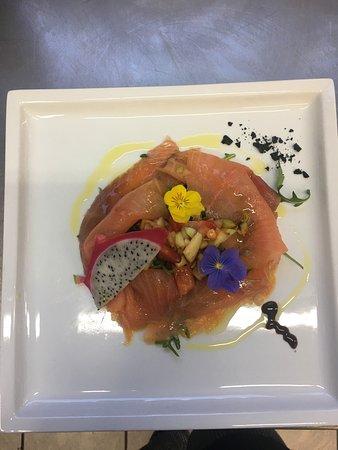 Acquarossa, Schweiz: Tutti nostri piati a base di pesce e tanto altro fresco