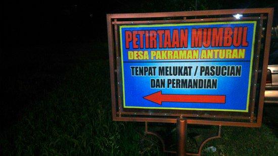 Anturan, อินโดนีเซีย: Pura Ayu Taman Petirtan Mumbul