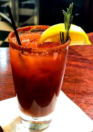 Trappe, MD: Lemon Rosemary Bloody Mary