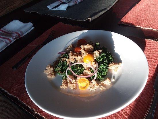 Trappe, MD: Kale & Quinoa Salad