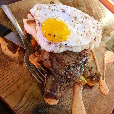 Neon Pig Cafe Tupelo Menu Prices & Restaurant Reviews #2: awesome steak and gelato