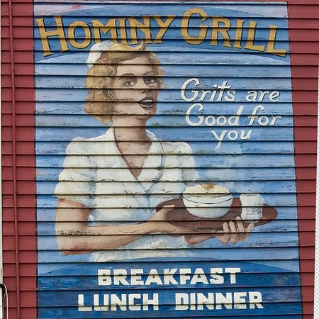 Hominy Grill: Because...
