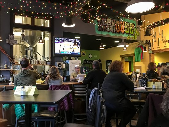 Lone Peak Brewery Interior