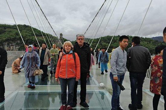 Zhangjiajie Grand Canyon with Glass Bridge Private Day Tour