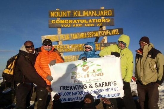 8 days Kilimanjaro trekking via...